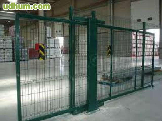 Venta de mallas metalicas - Carril puerta corredera ...