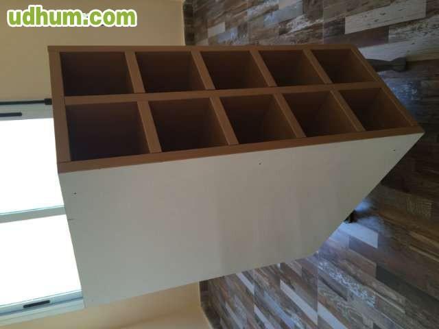 Mueble cocina comedor botellero for Mueble cocina 60 x 30