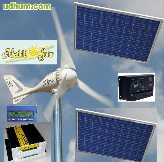 Placas solares baterias inversores 1 for Baterias placas solares