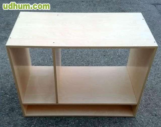 Mueble auxiliar de madera segunda mano for Muebles auxiliares segunda mano