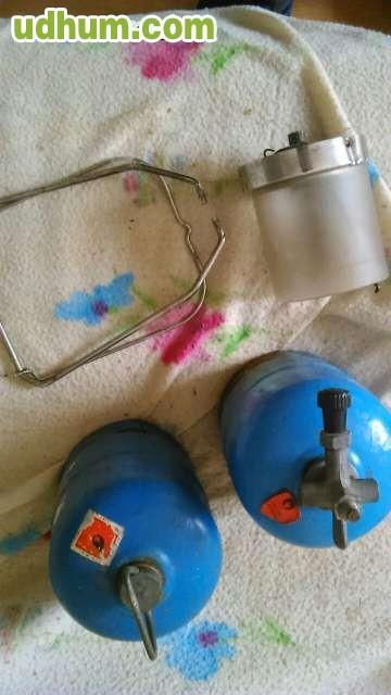 Botella de camping gas con luz - Botella camping gas ...