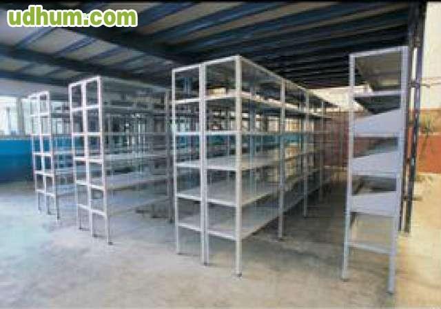 Estantes estanterias de metal - Estantes de metal ...