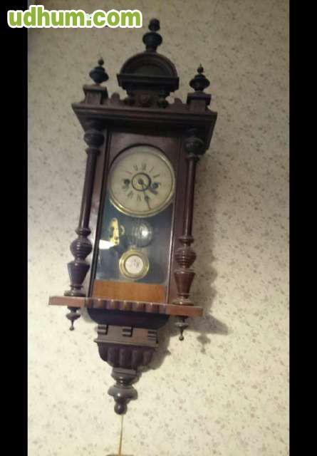 Reloj antiguo de pared original 1 - Reloj pared original ...