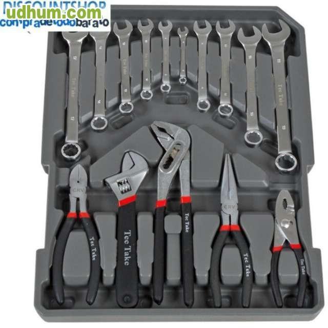 Malet n herramientas con ruedas 251 piez - Maletin herramientas con ruedas ...