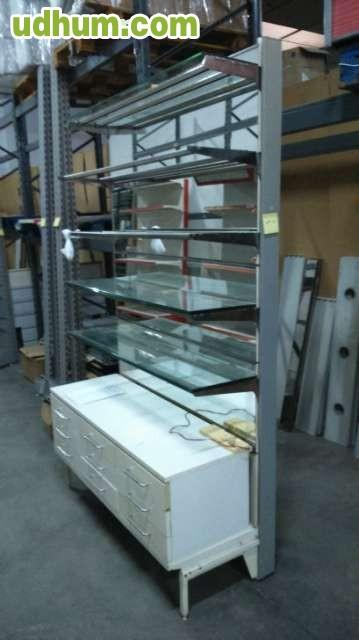 Estanterias tienda 1 for Muebles lucena liquidacion