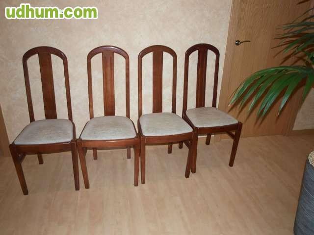 Sillas para salon y de comedor tapizadas for Sillas de salon tapizadas