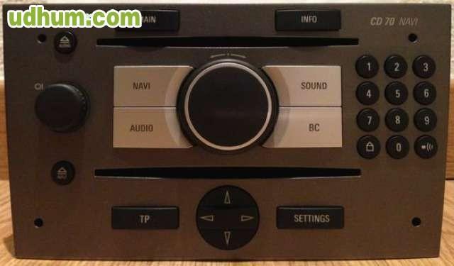 navi cd 70 cid para opel vectra c. Black Bedroom Furniture Sets. Home Design Ideas