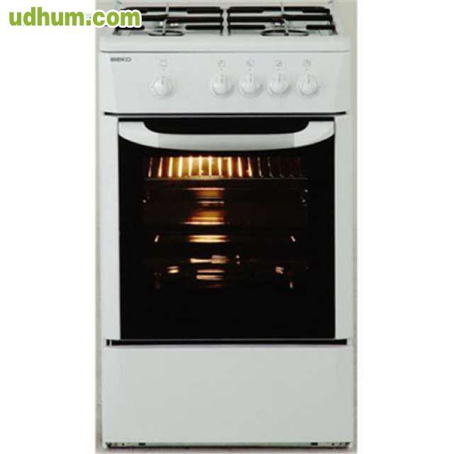 Cocina de gas con horno y 4 fuegos for Cocina 4 fuegos con horno a gas