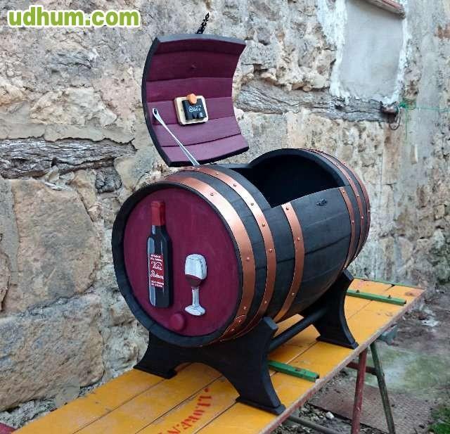 Baul barril de vino - Barril de vino ...