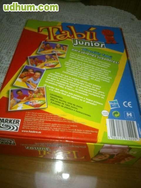 Juego de mesa tabu junior for Juego de mesa tabu precio