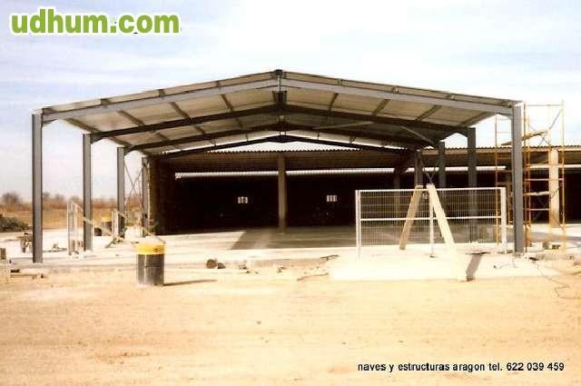 Naves y estructuras metalicas for Naves prefabricadas de ocasion