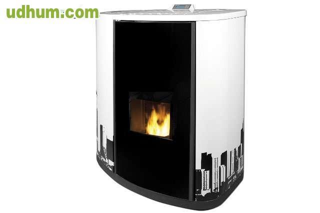 Estufas de pellet de aire y canalizable - Estufas de pellets de aire ...