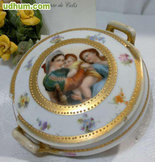 Caja en porcelana austriaca con marcas for Marcas de porcelana