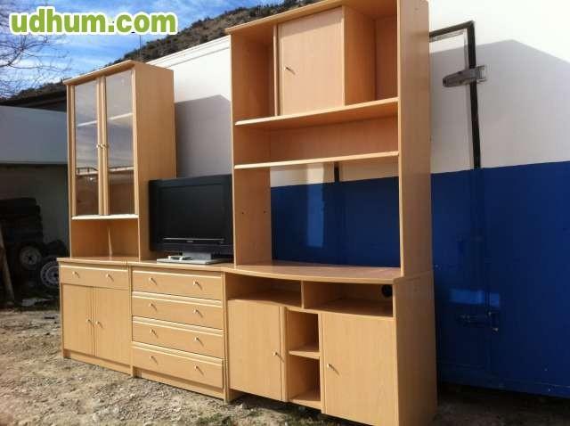 mueble de salon para tv 2 80x 2 metros