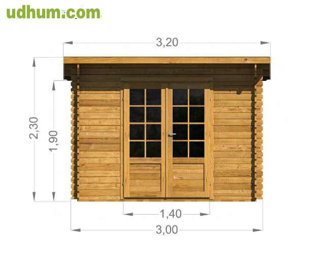 Trastero caseta de jard n 3x3 for Trastero jardin