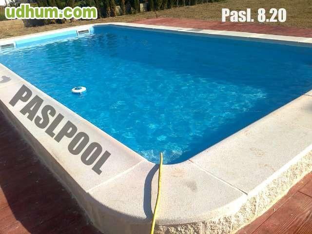 Paslpool piscinas de poliester for Fabricantes de piscinas de poliester