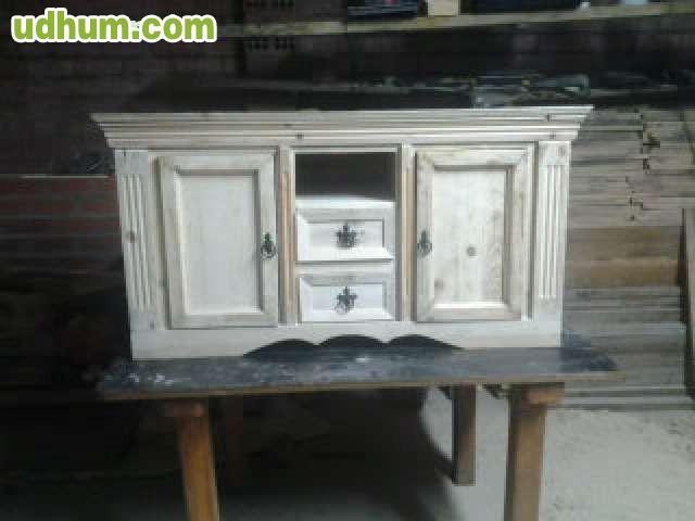 Muebles rusticos de madera a medida for Muebles madera a medida