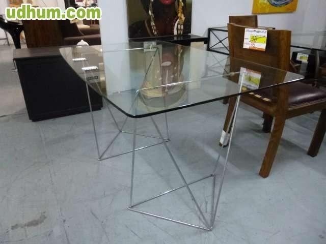 Mesa despacho cristal ref 1254 - Mesas despacho cristal ...
