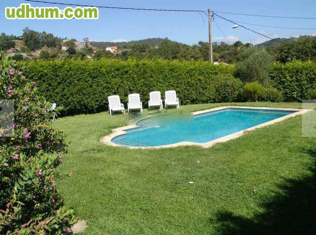 Chalet seminuevo nigran piscina for Piscinas desmontables ocasion