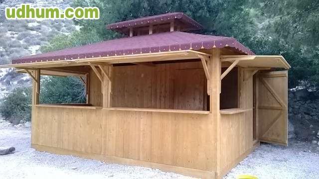 Chiringuitos y casetas 1 for Alquiler chiringuito madera
