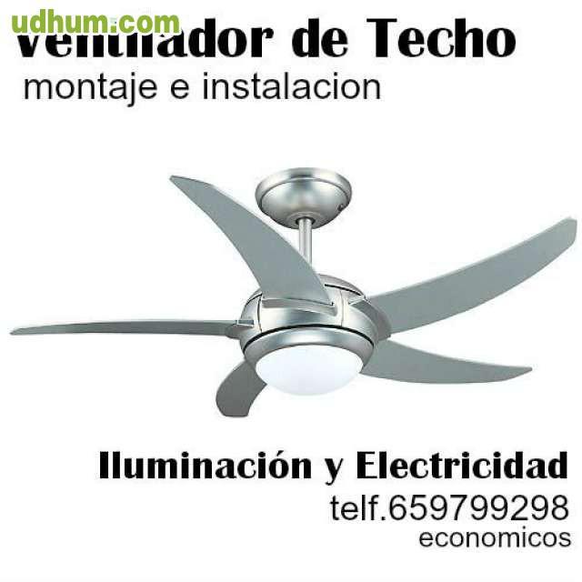 Ventilador techo montaje e instalaci n 1 - Instalacion de ventilador de techo ...