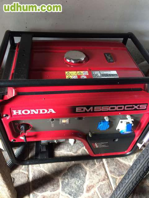 Generador electrico honda 5500w for Generador electrico honda precio