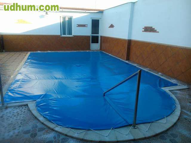 Cubiertas para piscina baratas for Piscinas pvc baratas