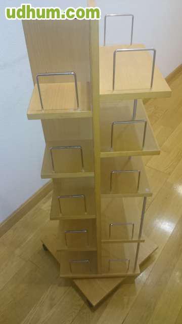 Mueble Giratorio Con Organizador Y Espejo : Mueble giratorio con ruedas organizador