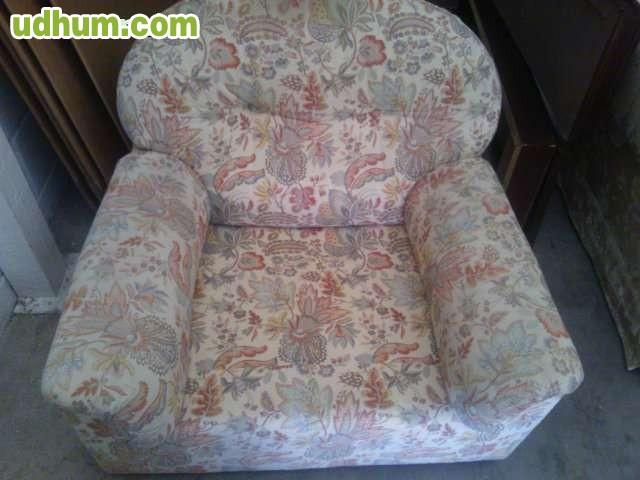 Sofa con dos sillones for Sillones a buen precio
