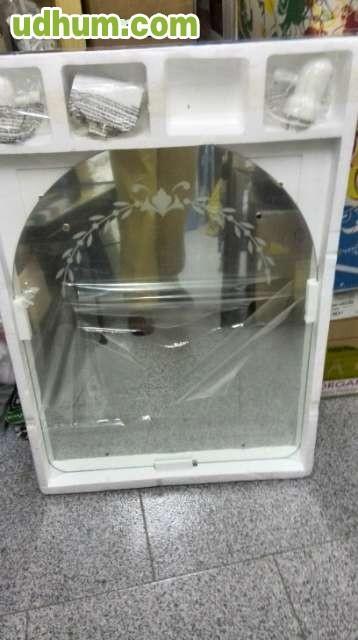 Espejo para ba o con focos nuevo for Focos bano