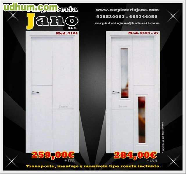Puertas lacadas baratas for Puertas para casa baratas
