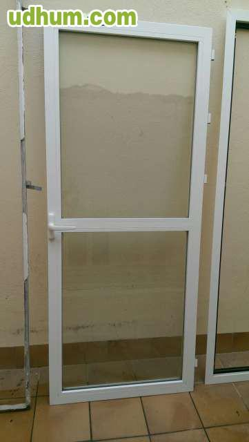 puerta de aluminio climalit ocasi n
