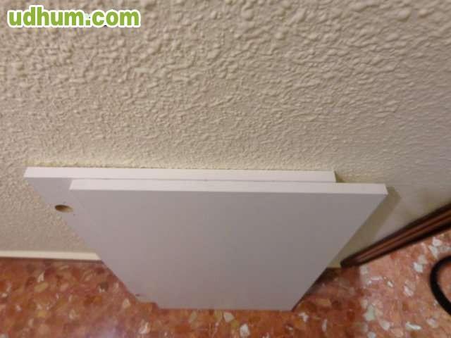 Puertas de cocina blancas for Puertas semi macizas blancas