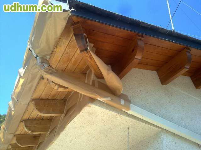 Todo en tejados jos antonio 1 for Tejados de madera economicos