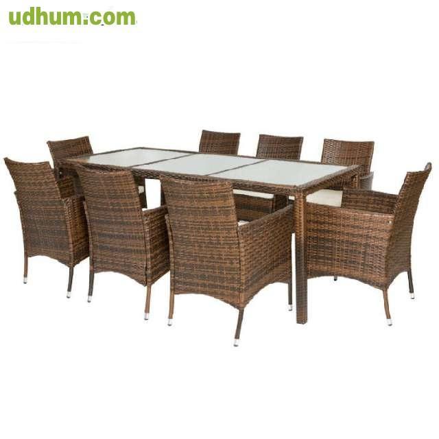 Liquidacion conjunto de jardin 699 for Liquidacion mesas sillas jardin