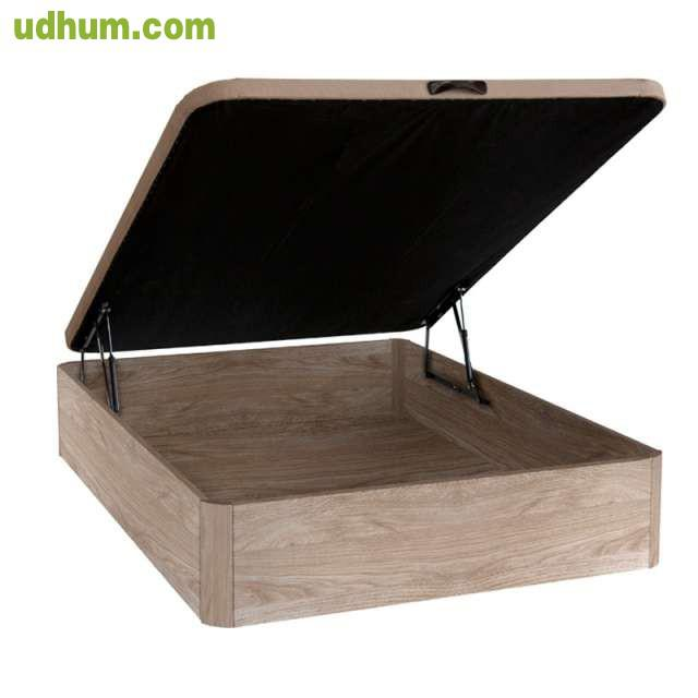 Canape madera colchon visco 135x190 1 for Canape 135x190