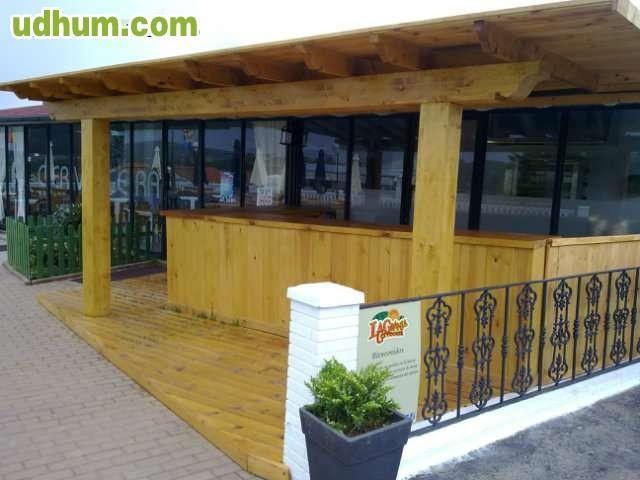 Fabricacion de chiringuitos de playa for Alquiler chiringuito madera