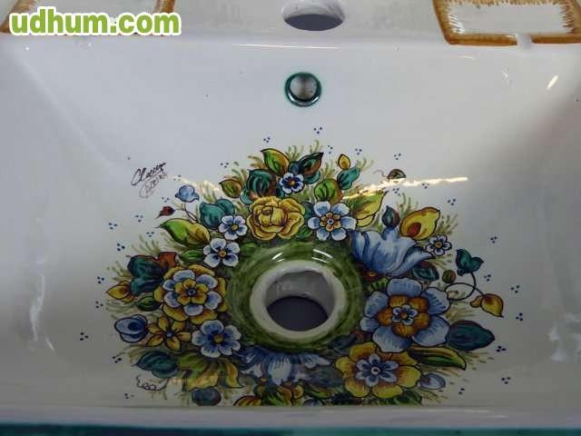 Pila de lavabo de cer mica cl sica for Lavabos de ceramica