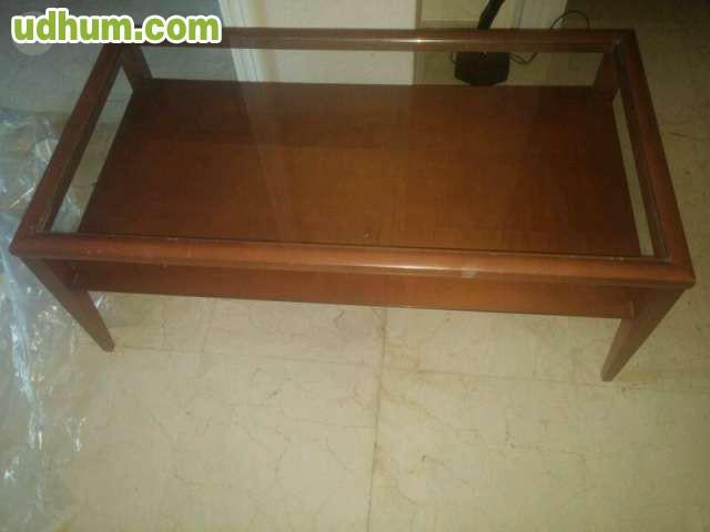 Mueble sal n madera 4 for Muebles salon madera maciza modulares