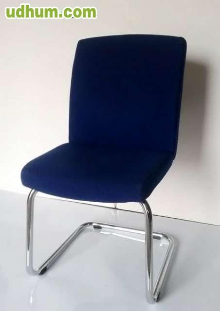Sillas azules de oficina segunda mano for Sillas de escritorio segunda mano