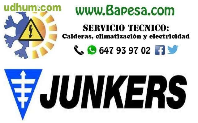 Servicio tecnico multimarca junkers for Junkers calderas servicio tecnico