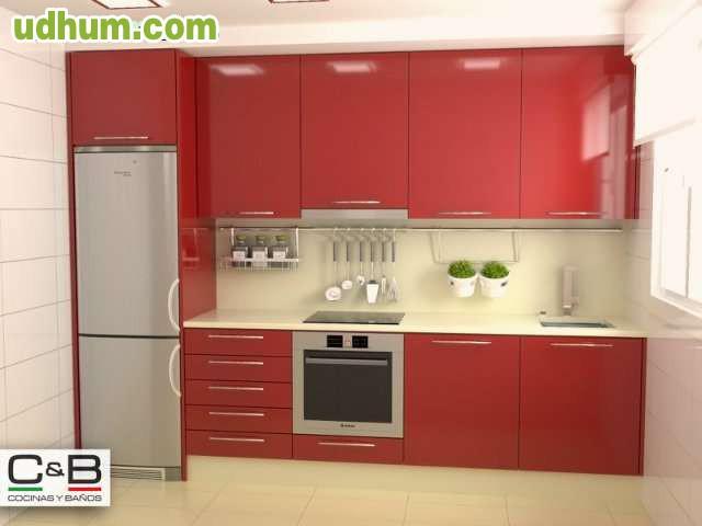 Muebles de cocina redondela porri o for Cocina 3 metros lineales