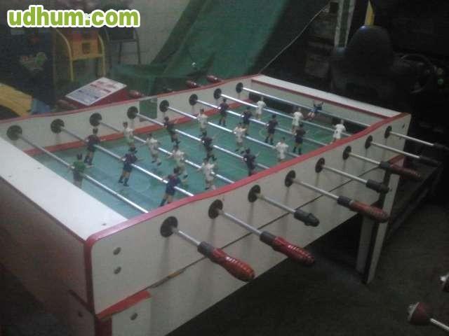 Futbolin bar profesional for Futbolin madera bar