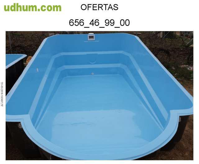 Poliester precios empres a piscinas se - Precio piscina poliester ...