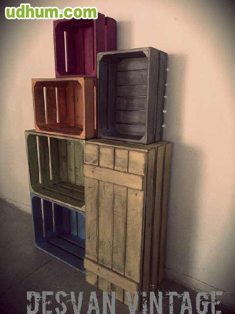 Mueble vintage industrial malaga for Muebles vintage malaga