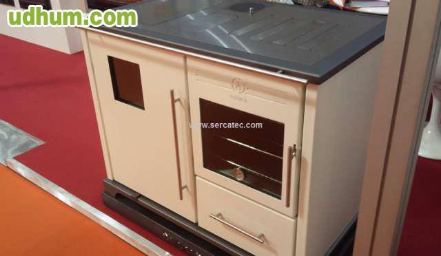 Cocina de le a para radiadores 31 6kw - Estufa de lena para radiadores ...