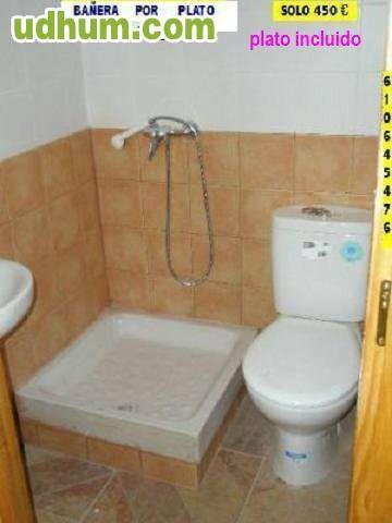 Cambio ba era por plato de ducha madrid - Banera o plato de ducha ...