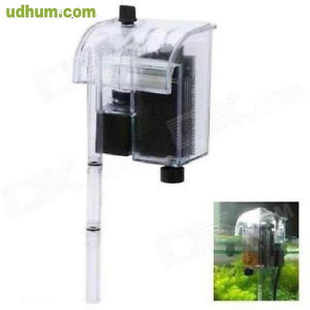 Filtro externo mochila bomba para acuari for Esterno o externo