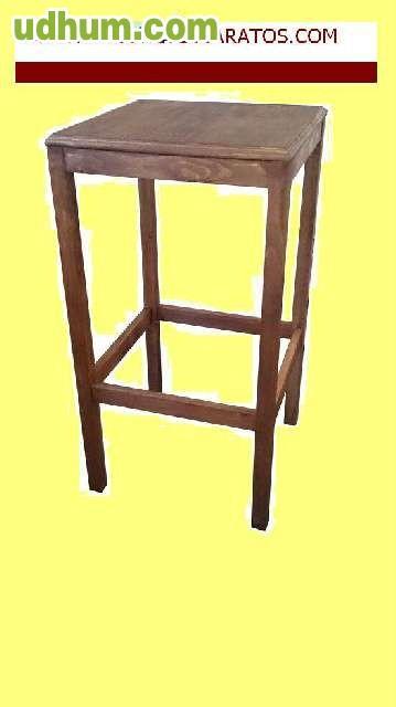 Mesa de madera con sillas baratas 1 for Mesas de jardin de madera baratas