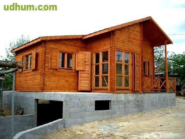 Casas de madera modelo eeelche - Casas prefabricadas de madera espana ...